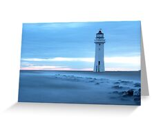 Fort Perch Rock Lighthouse Greeting Card