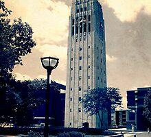 Ann Arbor Clock Tower by Phil Perkins