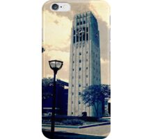 Ann Arbor Clock Tower iPhone Case/Skin