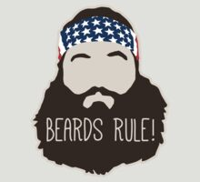 Beards Rule by DetourShirts