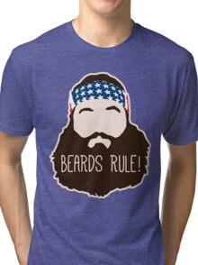 Beards Rule Tri-blend T-Shirt
