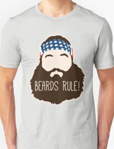 Beards Rule Unisex T-Shirt