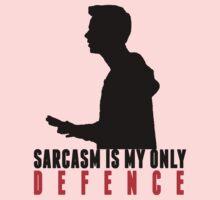 Stiles Stilinski - Sarcasm is my only defence Kids Tee