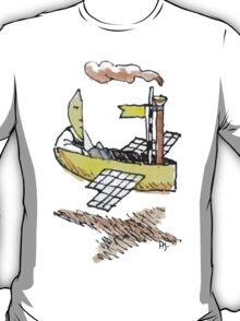 Moonman's Airship T-Shirt