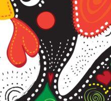 Symbols of Portugal - Rooster bottle cap Sticker