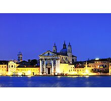 St Mary of the Rosary Church   Venice Photographic Print