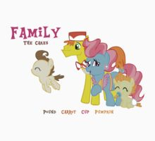 The Cakes Family - My Little Pony by Rhiaxxify