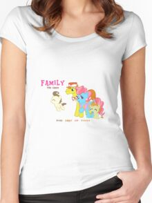 The Cakes Family - My Little Pony Women's Fitted Scoop T-Shirt