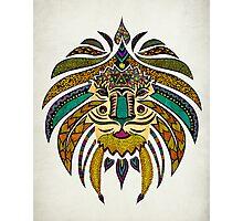 Emperor Tribal Lion Photographic Print