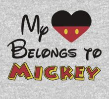 My heart belongs to Mickey Mouse by sweetsisters