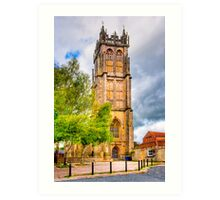St. John's Church - Glastonbury Art Print