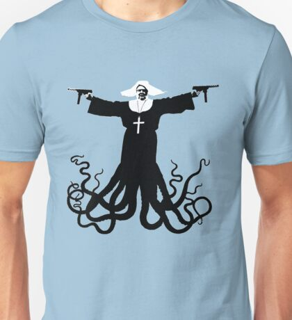 Killer Octo Nun ( aka World Peace) Unisex T-Shirt