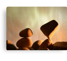Point of Balance Canvas Print