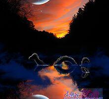 the mystery of mangehelia lake by LoreLeft27