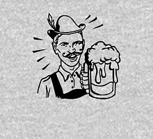 Retro Guy with Beer Unisex T-Shirt