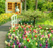 Tulip Cottage  Sticker