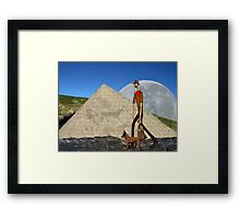 Pyramid Jack Framed Print