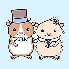 Hamster Wedding Couple by zoel