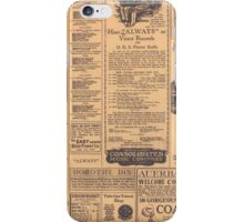 Retro Old Newspaper Page Look iPhone Case / iPad Case / Samsung Galaxy Case  / Tote Bag / Pillow  iPhone Case/Skin