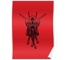 Gundam Black Poster