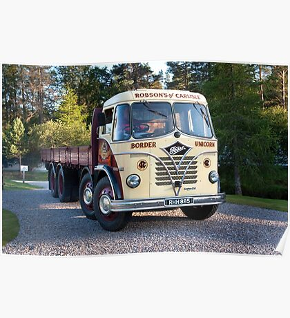 Foden Lorry Poster