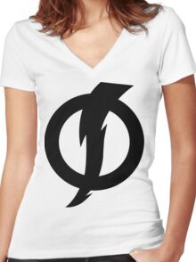 System Shock Women's Fitted V-Neck T-Shirt
