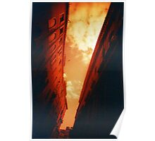 Sky Canal - Lomo Poster