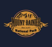 Mount Rainier National Park, Washington Kids Tee