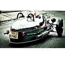 3 Wheeler Car Photographic Print