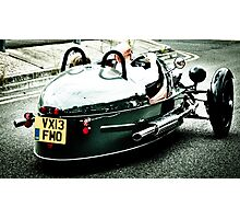 3 Wheeler Car Photographic Print