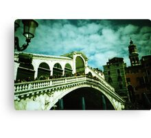 Rialto on Canvas (Not Really) - Lomo Canvas Print