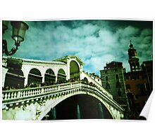 Rialto on Canvas (Not Really) - Lomo Poster