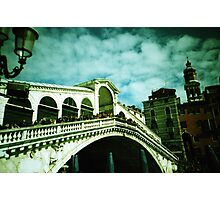 Rialto on Canvas (Not Really) - Lomo Photographic Print