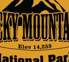 Rocky Mountains National Park, Colorado Sticker