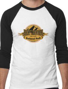 Rocky Mountains National Park, Colorado Men's Baseball ¾ T-Shirt