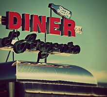 Vintage Diner  by ElleEmDee