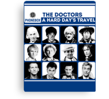 A Hard Day's Travel Canvas Print