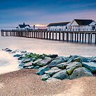 Dawn at Southwold Pier by fulhamphil