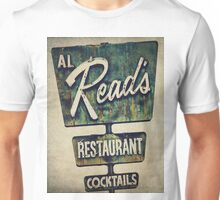 Al Read's Restaurant Vintage Sign Unisex T-Shirt