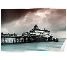 Eastbourne Pier. Poster