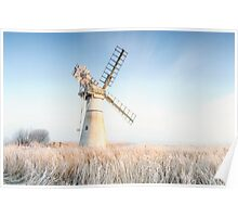 Thurne drainage mill. Poster