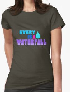 Every Teardrop Is A Waterfall Womens Fitted T-Shirt
