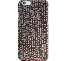 witchcraft writing iphone case iPhone Case/Skin