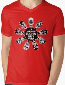LA VIDA SIN LUCHA NO ES VIDA5 Mens V-Neck T-Shirt