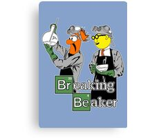 Breaking Beaker Canvas Print