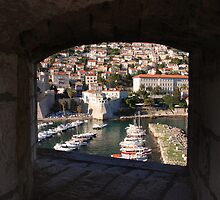Dubrovnik.  Ploce Harbour. by MigBardsley
