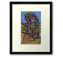 Earth Dragon Framed Print