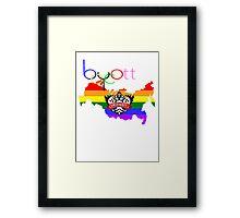 Boycott Framed Print