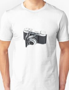 Classic Viogtlander Vito II 35mm Film Rangefinder Camera - Retro/Old/Vintage & Stylish!  T-Shirt