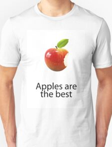 Apples are the best Unisex T-Shirt